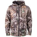 Men's Realtree Camo Green Bay Packers Trophy Tech Fleece Full-Zip Hoodie