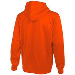 Men's New Era Orange Denver Broncos Combine Stadium Logo Pullover Hoodie