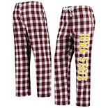 Women's Cardinal/Cream Iowa State Cyclones Buffalo Plaid Flannel Pants