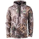 Men's Realtree Camo Green Bay Packers Champion Tech Fleece Pullover Hoodie