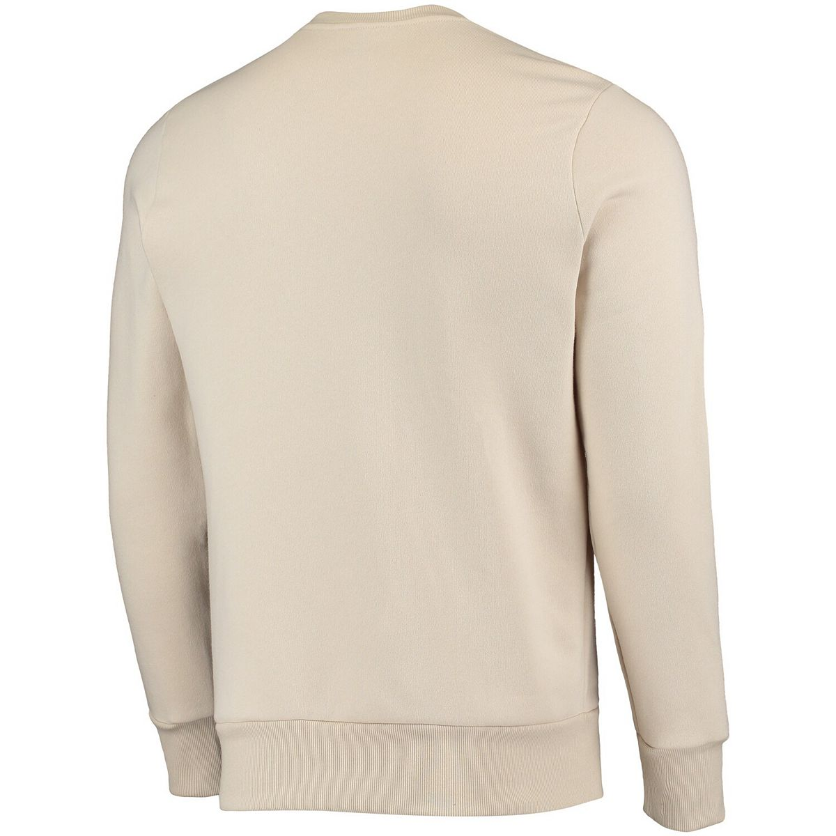 Men's Majestic Threads Oatmeal Chicago Cubs Fleece Pullover Sweatshirt IvFdz