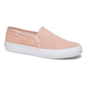 Keds Double Decker Perforated Suede Women's Sneakers