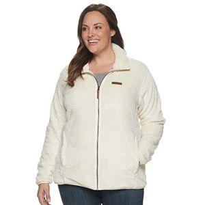 Plus Size Columbia Fireside Sherpa Fleece Jacket