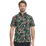 Men's Hurley Patterned Woven Button-Down Shirt