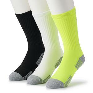 Men's GOLDTOE® 3-pack Power Sox Apex Pro Double-Tab No-Show Socks