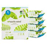 Earth Rated® 400 USDA Certified Biobased Wipes - Unscented