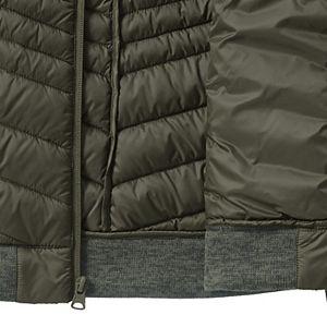 Women's Lands' End Down Ultralight Packable Sweater Fleece Jacket