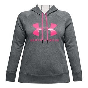 Plus Size Under Armour Rival Fleece Graphic Hoodie