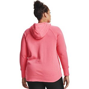 Plus Size Under Armour Rival Fleece Metallic Hoodie