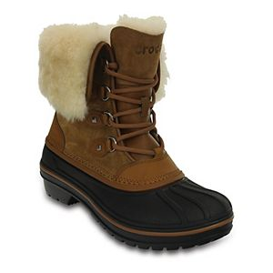 Crocs Allcast II Luxe Women's Waterproof Winter Boots