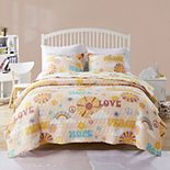 Greenland Home Fashions Cassidy Quilt Set With Shams