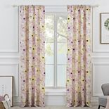 Greenland Home Fashions 2-pack Misty Bloom Window Curtain Set