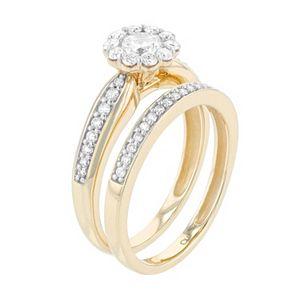 Lovemark 10k Gold 1 Carat T.W. Diamond Ring