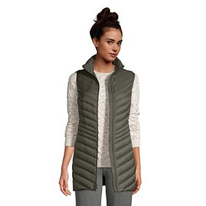 Women's Lands' End Ultralight Packable Down Vest