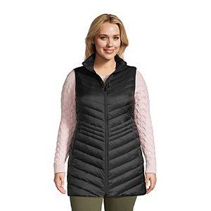 Plus Size Lands' End Ultralight Packable Down Vest