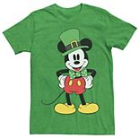 Men's Disney Mickey Mouse St. Patty's Outfit Tee