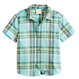 Toddler Boy Jumping Beans® Patterned Woven Shirt
