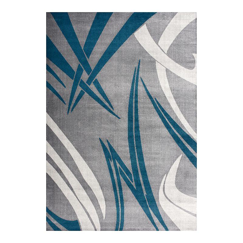 Art Carpet Adenning Geo Rug, Grey, 5X8 Ft