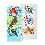 Celebrate Spring Together Three Birds Kitchen Towel 2-pk.