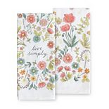 Celebrate Spring Together Live Simply Kitchen Towel 2-pk.