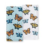 Celebrate Spring Together Butterfly Kitchen Towel 2-pk.