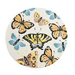 Celebrate Spring Together Linen Butterflies Placemat