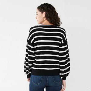 Women's Nine West Balloon Sleeve Sweater