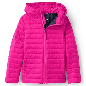 Kids 7-20 Lands' End ThermoPlume Packable Hooded Jacket