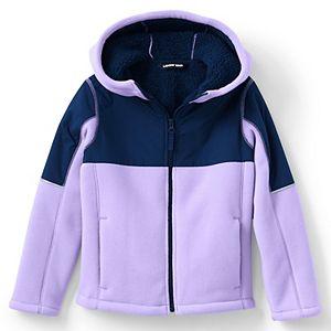 Kids 7-20 Lands' End Bonded Fleece Jacket in Regular & Husky