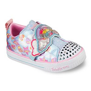 Skechers® Twinkle Toes Shuffle Lite Rainbow Sprinkles Toddler Girls' Light-Up Shoes