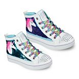 Skechers® Twinkle Toes Twi-Lites 2.0 Unicorn Surprise Girls' High Top Shoes