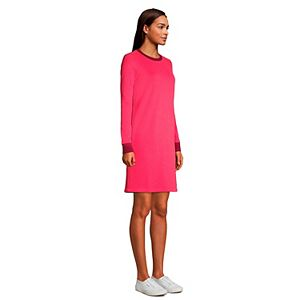 Petite Lands' End Serious Sweats French Terry Sheath Dress