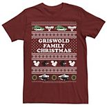 Men's Christmas Vacation Griswold Family Ugly Sweater Tee