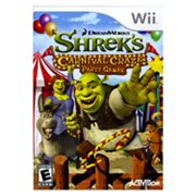 Nintendo Wii Shrek's Carnival Craze: Party Games