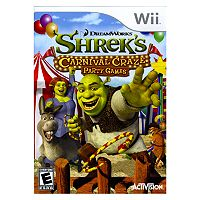 Nintendo® Wii™ Shrek's Carnival Craze™: Party Games