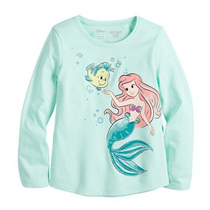 Disney's The Little Mermaid Toddler Girl Long Sleeve Tee by Jumping Beans®