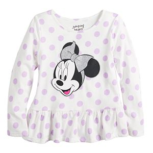 Disney's Minnie Mouse Toddler Girl Ruffled Tee by Jumping Beans®