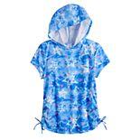 Girls 4-20 SO® Hoodie Tie Dye Tee in Regular & Plus Size