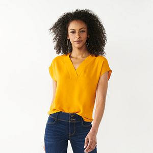 Women's Apt. 9® Clean-Front Dolman-Sleeve Top