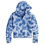 Girls 4-20 SO® Tie Dye Zip-Up Hoodie in Regular & Plus Size