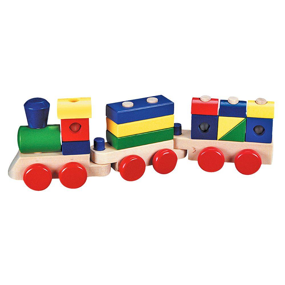 Melissa & Doug® Stacking Train