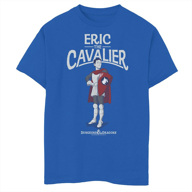 Boys 8-20 Dungeons & Dragons Eric The Cavalier Graphic Tee, Boy's, Size: XL, Med Blue