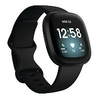 Deals on Fitbit Versa 3 Health and Fitness Smartwatch FB511