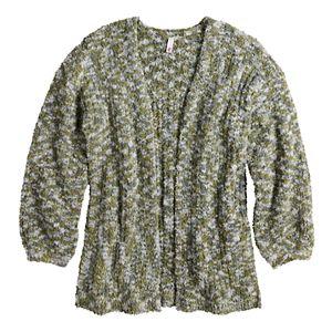 Girls 4-20 SO® Teddy Solid Cardigan in Regular & Plus Size