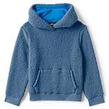 Kids 4-7 Lands' End Sherpa Pullover Hoodie
