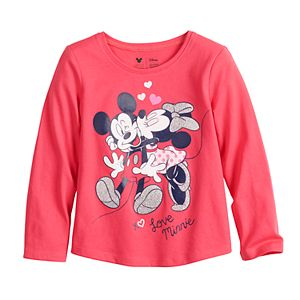 Disney's Mickey Mouse Toddler Girl Shirttail-Hem Tee by Jumping Beans®