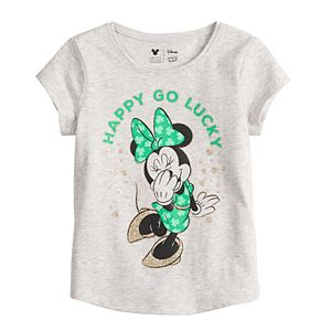 Disney's Minnie Mouse Toddler Girl Shirttail-Hem Tee by Jumping Beans®
