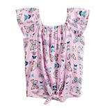 Girls 4-12 Sonoma Goods For Life® Tie-Front Top
