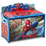 Marvel Spider-Man Deluxe Toy Box by Delta Children