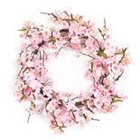 Melrose Artificial Cherry Blossom Wreath